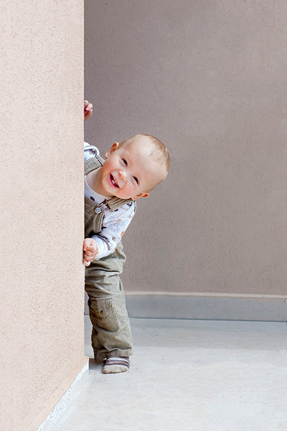 Toddler having fun reward chart