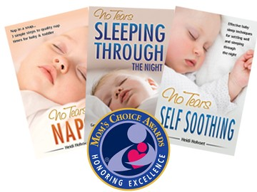 Award-winning baby sleep book series