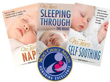 Award-winning baby sleep book series
