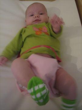 Coth diaper happy baby