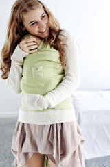 Mother and baby in Hug A Bub sling