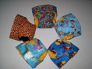 Ring of reusable cloth diapers