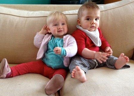 Rosie babies Amelie and Mario