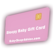 Sleepy Baby Gift Card at Baby Sleep Advice