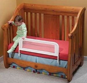 Toddler Transition From Crib To A Big Bed