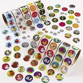 Stickers to use with reward chart