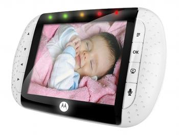 Motorola Camera Monitor with cute baby