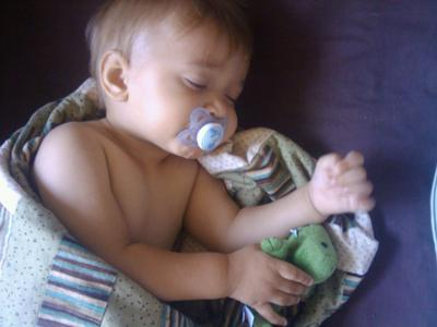 my sweet boy sleeping!